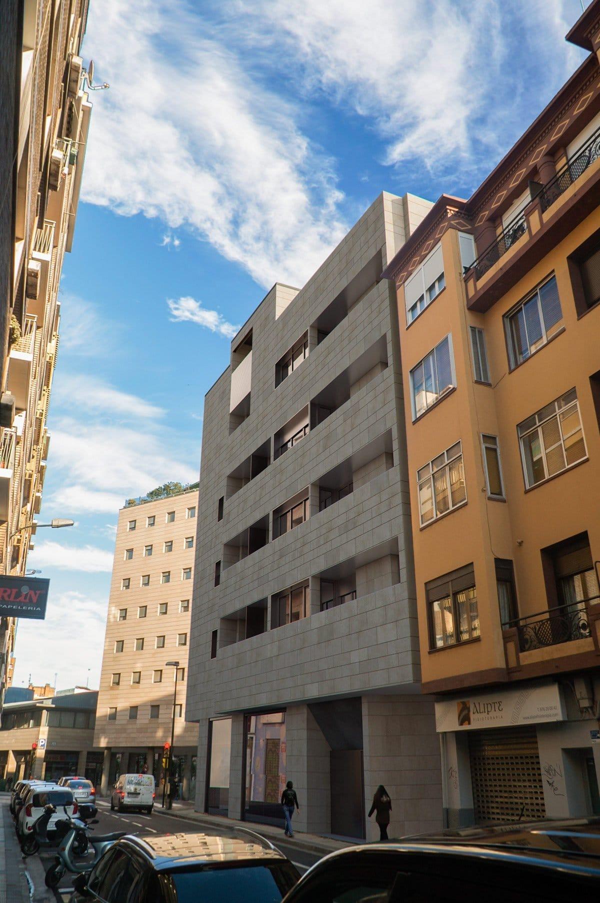 Render exterior block of flats by GAYARRE infografia