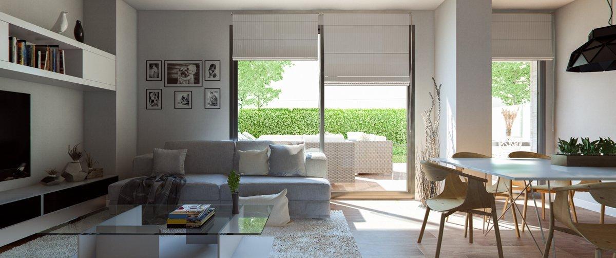 Render interior living room by GAYARRE infografia