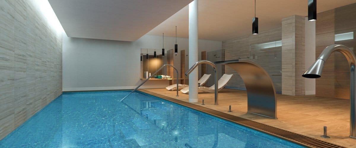 Render interior pool by GAYARRE infografia