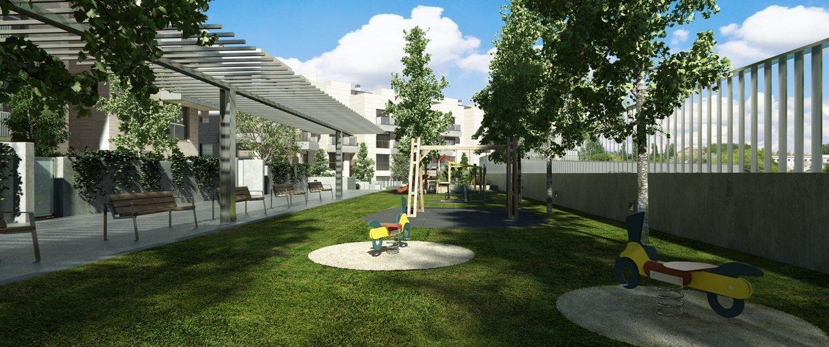 Render exterior garden by GAYARRE infografia