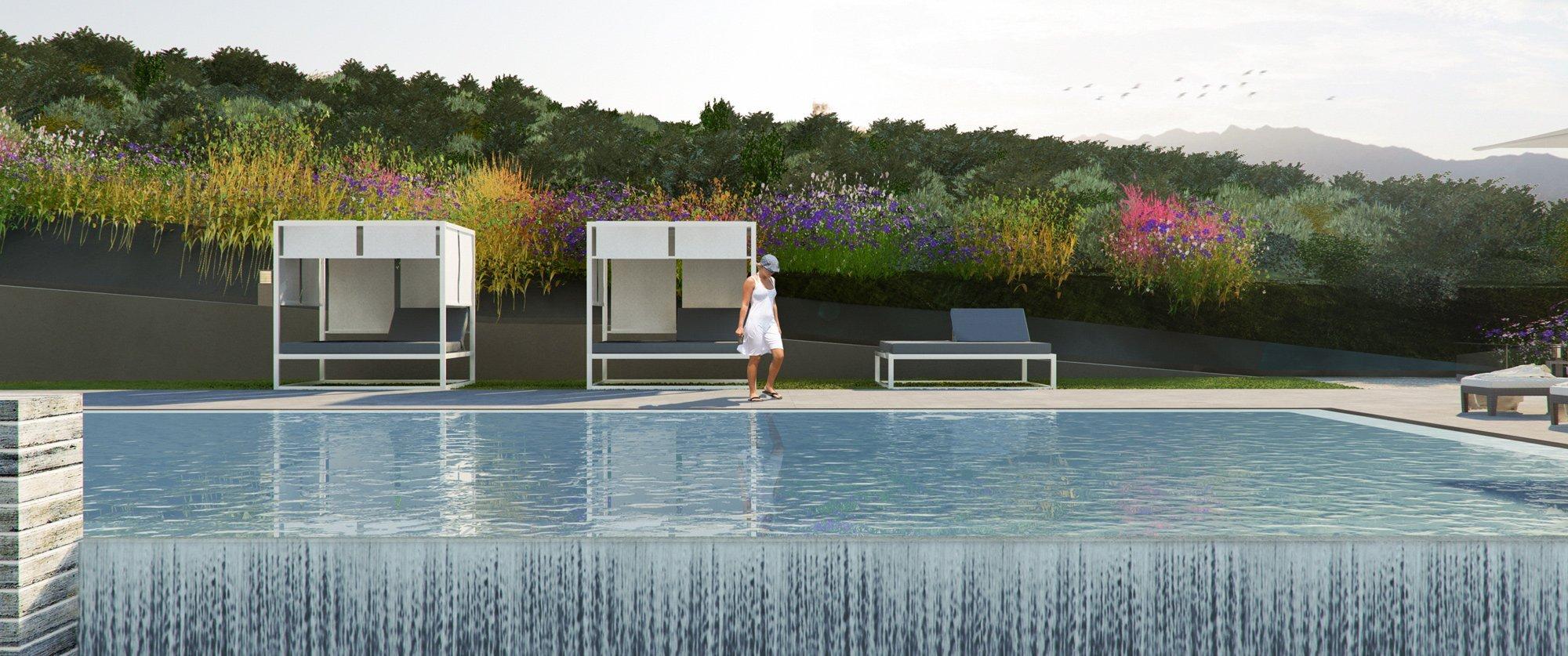 Render exterior swimming pool by GAYARRE infografia
