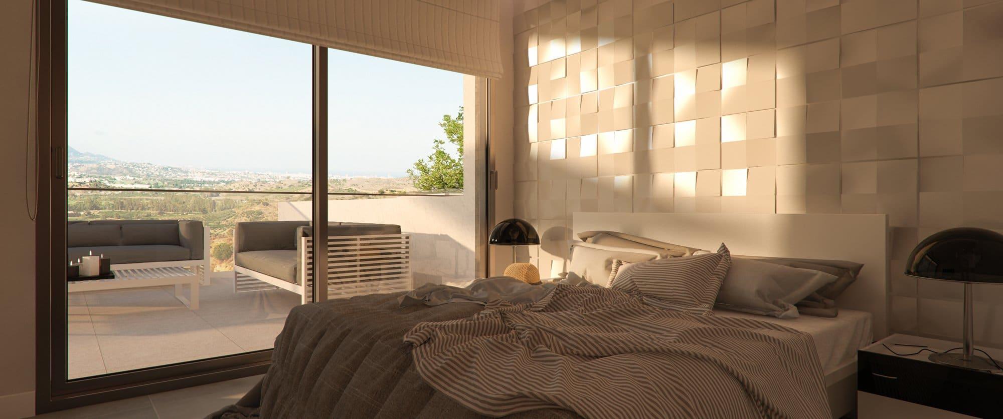 Render interior bedroom by GAYARRE infografia