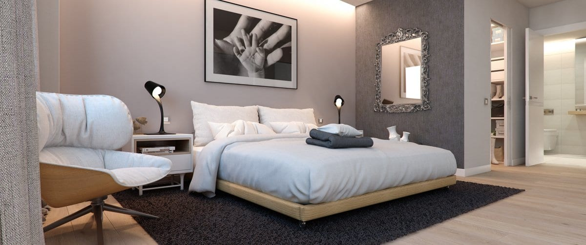Render interior bedroom by GAYARRE infografia
