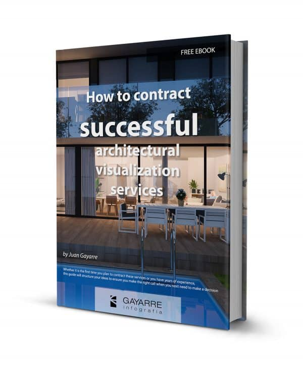 """Ebook """"How to contract successful architectural visualization services"""""""